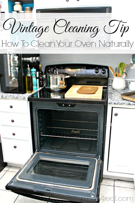 How To Clean Your Oven Naturally Vintage Cleaning Tip | how to clean your oven naturally vintage cleaning tip