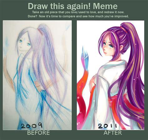 Draw It Again Meme Template - draw this again meme by polkadotedflower on deviantart