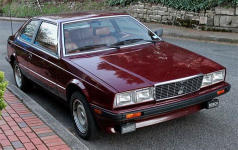 car owners manuals for sale 1984 maserati biturbo regenerative braking 1984 maserati biturbo one owner 24k miles always garaged the best available classic