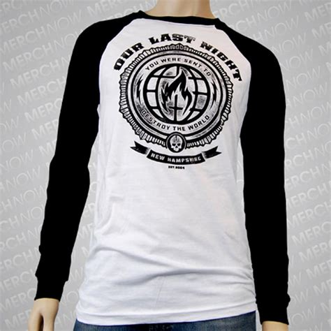 Destroyer Shirt destroyer black white baseball shirt oln0 merchnow