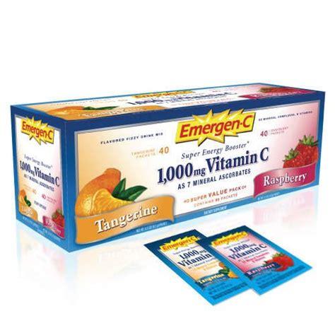 b immune energy drink emergen c vitamin c drink mix variety pack 80ct