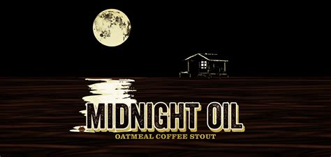 Midnight Oil Oatmeal Coffee Stout   Swamp Head : Swamp Head