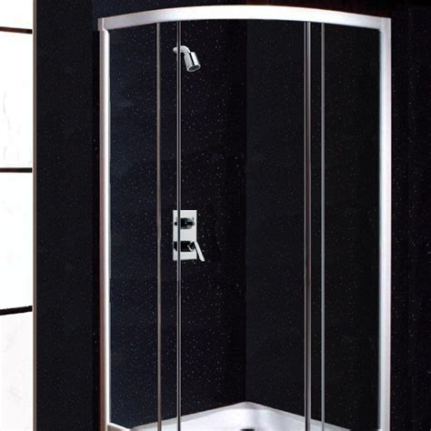 shower panels neptune black sparkle shower panels from the bathroom marquee