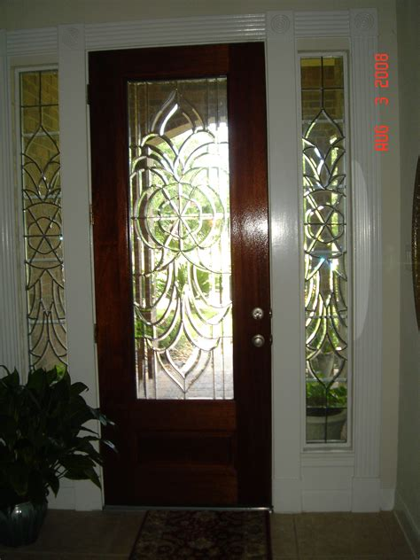 Entry Door With Side Windows Bevel Side Windows For Front Door S Glass More