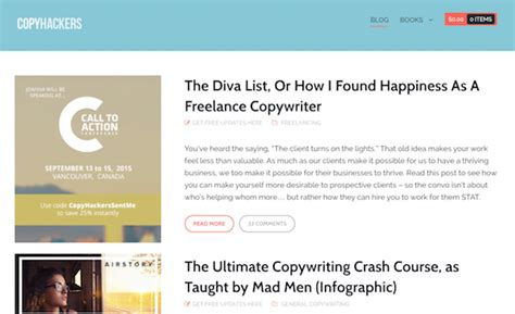 Best Image Blogs by 7 Of The Best Blogs For Learning Copywriting
