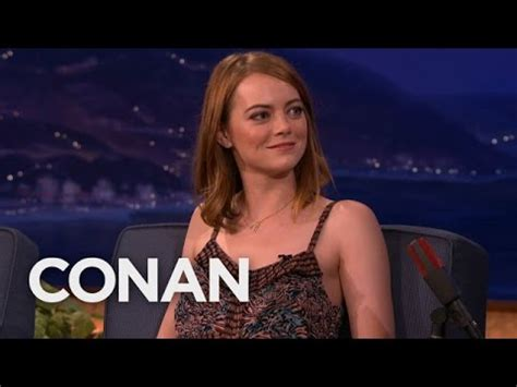 emma stone kpop emma stone is obsessed with k pop conan on tbs youtube