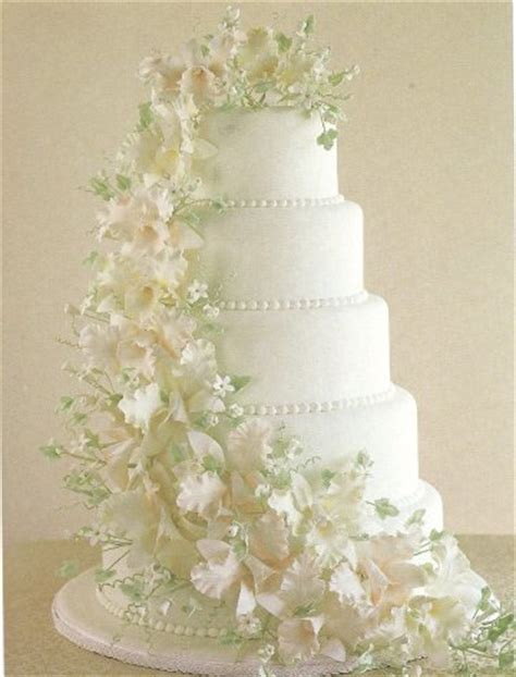 Fondant Wedding Cakes by Fondant Wedding Cake Make A Wedding Cake