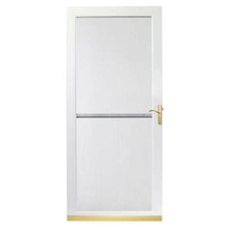 Andersen 3000 Door by Andersen 3000 Series 36 In White Self Storing Truscene