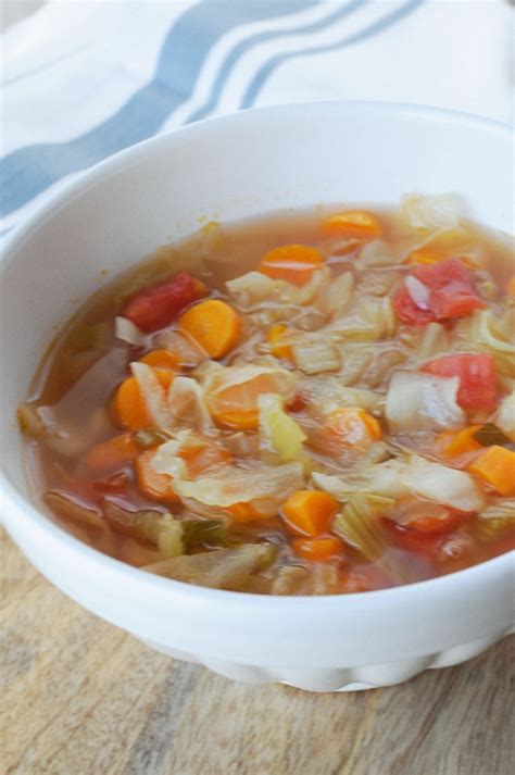 Detox Cabbage Soup by 7 Day Detox Cabbage Soup Lizzy Food