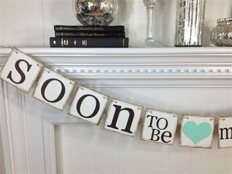 Wedding Shower Banner by Bridal Shower Decorations Bridal Shower Banners Soon To