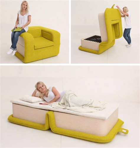 What Turns A On In Bed by Flop Armchair That Can Turn Into A Bed 6