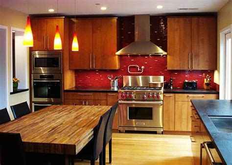 red kitchen paint ideas sensational red kitchen colors inspired by sour cherries