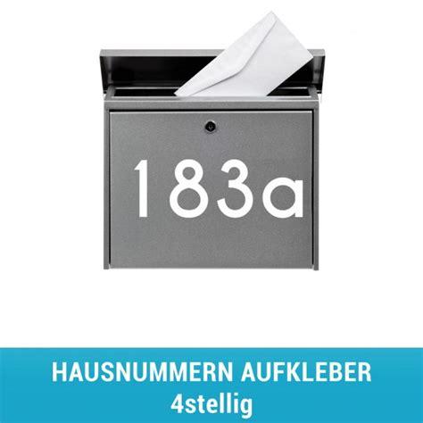 Hausnummer Aufkleber by Hausnummeraufkleber 4stellig Stickerhelden De