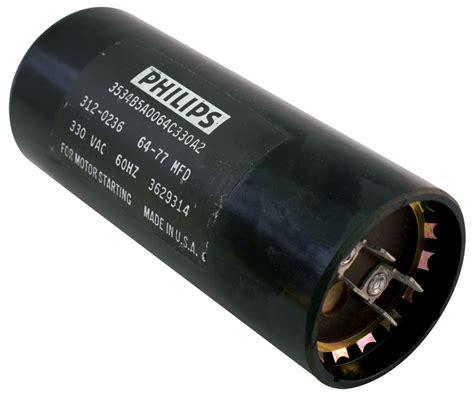 philips capacitor 3534 b motorstart run capacitors