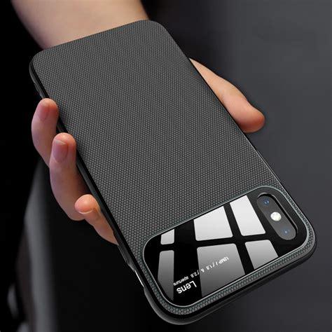 slim anti fingerprint protective for iphone xs max alexnld