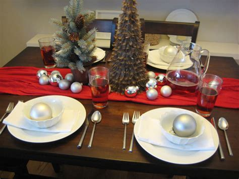 christmas dinner table settings set the table for christmas dinner with style this holiday