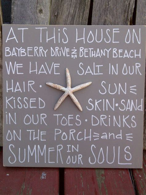 beach house signs items similar to personalized beach house sign on etsy