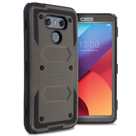 Lg G6 G6 Plus Bumper Casing Cover Armor Stand Keren for lg g6 g6 plus hybrid shockproof phone cover armor ebay