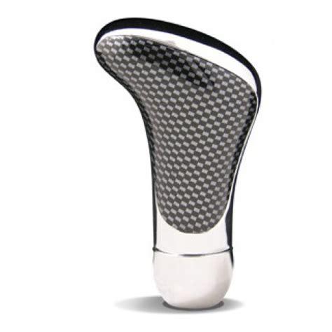 saas silver carbon fibre shift knob