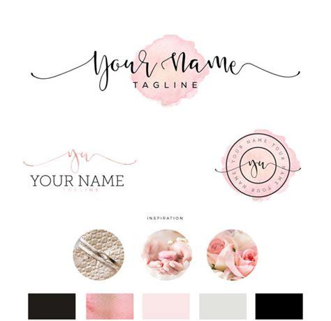 event design company names beautiful premade logo design for bloggers photographers