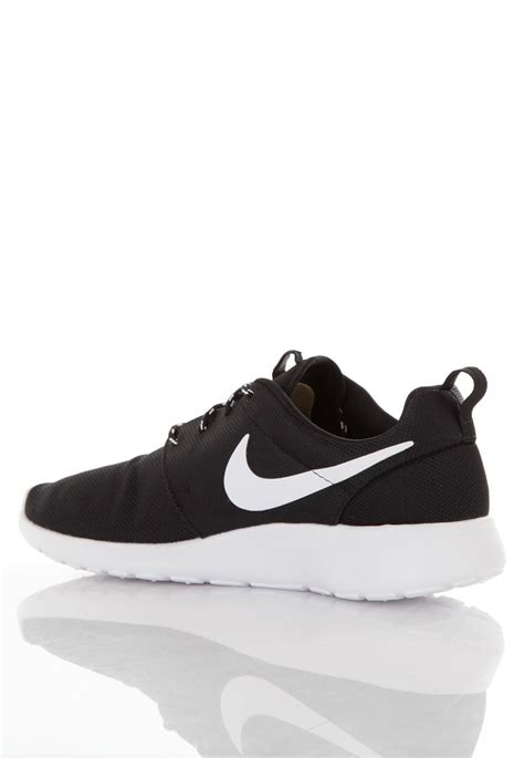 nike roshe run black white volt shoes impericon