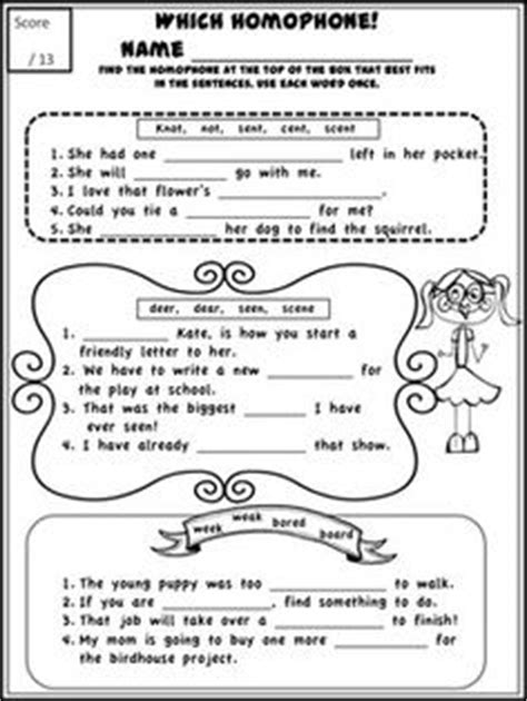 printable homophone quiz homonyms homophones activities chang e 3 mondays and