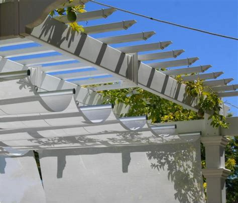 cable awnings and slide on wire canopies infinity canopy modular slide on wire canopy white