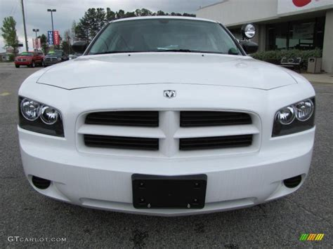Stone White 2010 Dodge Charger Police Exterior Photo