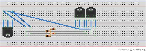 breadboard layout online how to build a reverse mux headphone splitter 2 inputs