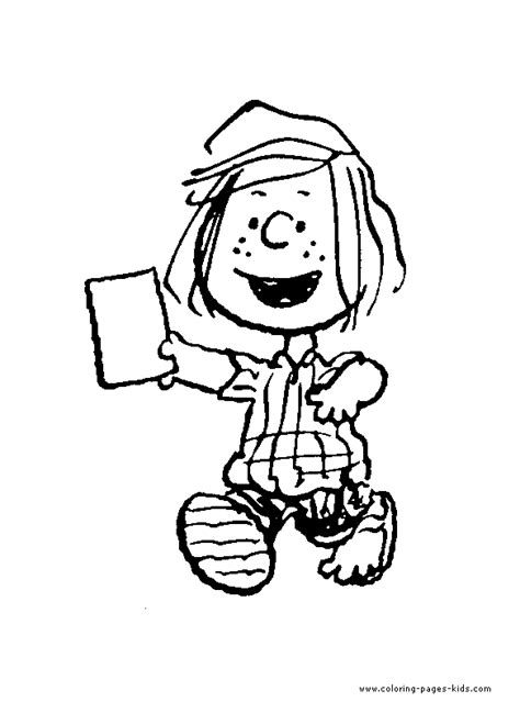 snoopy color page coloring pages  kids cartoon