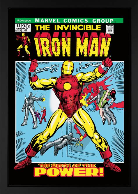 Vcd Original The Invincible Ironman the invincible iron 47 boxed canvas edition 2013