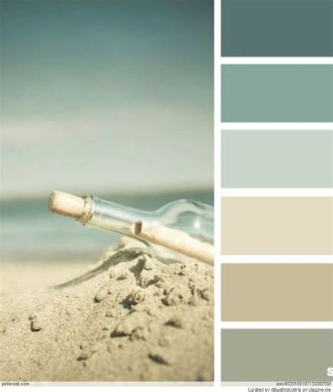 paint palettes for home beach house color palettes beach life pinterest