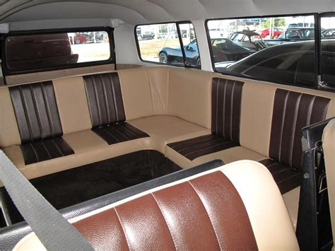 new volkswagen bus interior 1968 volkswagen custom bus barrett jackson auction