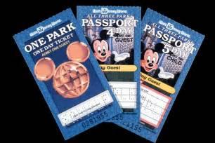 World Ticket Wdwthemeparks News Vintage Walt Disney World What