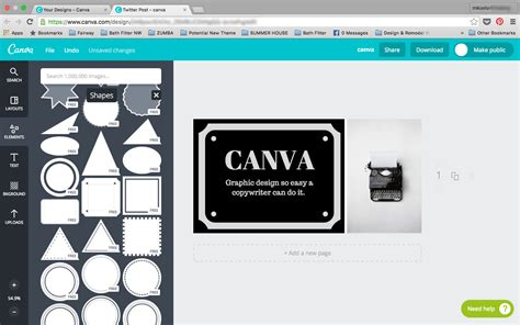 canva insert image canva graphic design so easy even a copywriter can do it