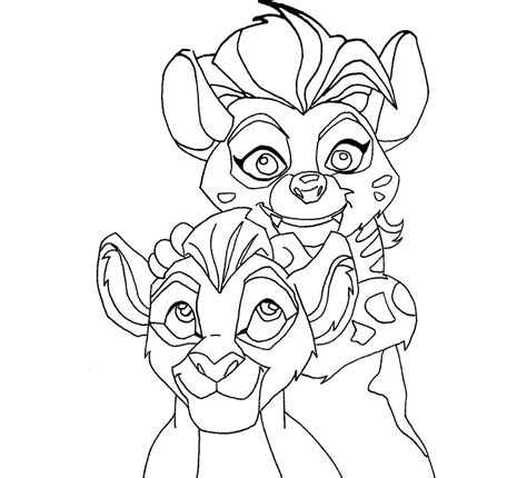 coloring pages lion guard the lion guard kion coloring pages face coloring pages