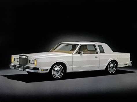 1980 lincoln town coupe 1980 81 lincoln continental town coupe
