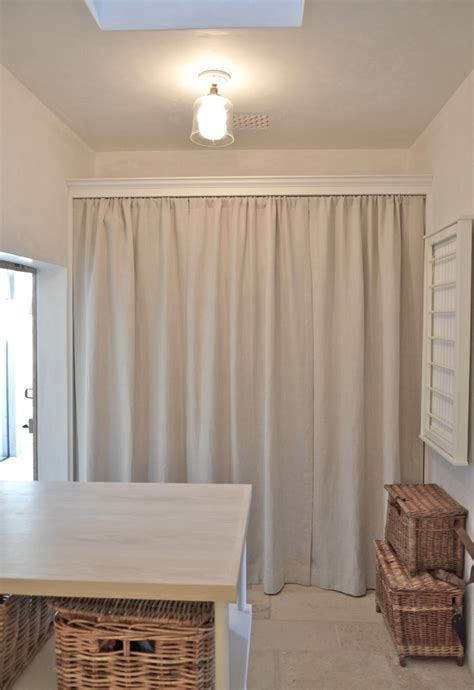 Laundry Room Curtain Decor Curtains Laundry Room Curtains Update How To Paint A Concrete Sustainable Pals