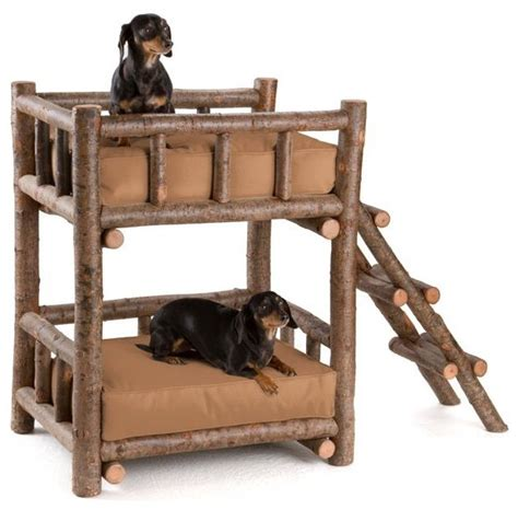 Bunk Bed For Dogs Rustic Bunk Bed 5134 By La Lune Collection Rustic Beds Milwaukee By La Lune