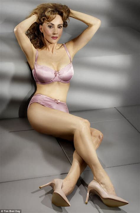 mature best marie helvin at 62 this is my last ever lingerie shoot