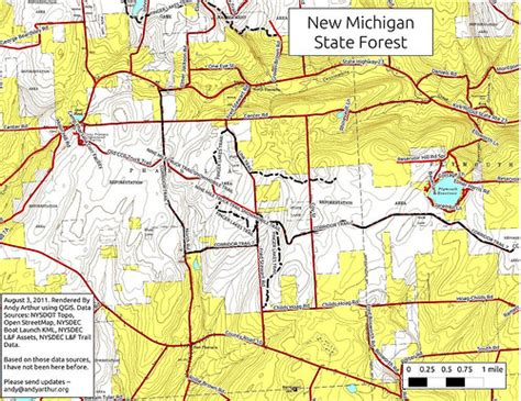 michigan state forest map new michigan state forest flickr photo