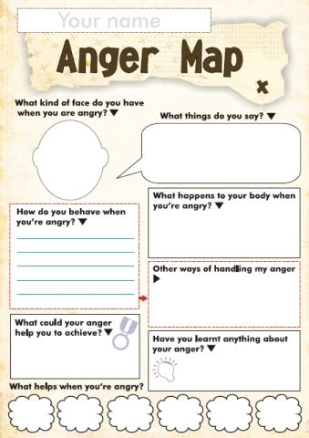 free anger and feelings worksheets for kids | free
