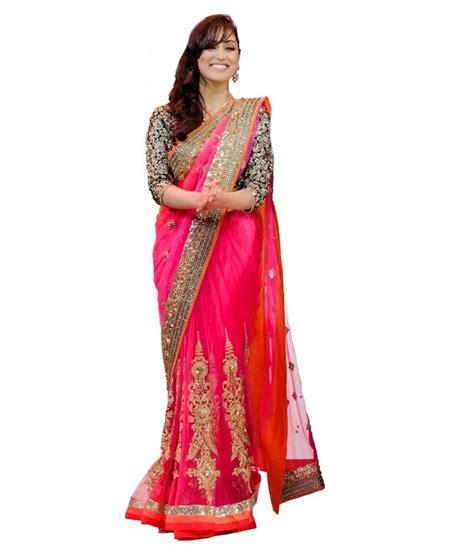 Orderan A N Sari designer sarees house multicoloured colour net sarees buy designer sarees house multicoloured
