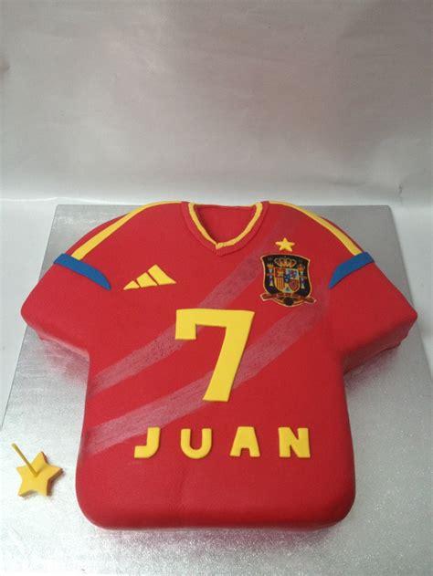 t shirt cake pattern spanish football team t shirt cake cake design