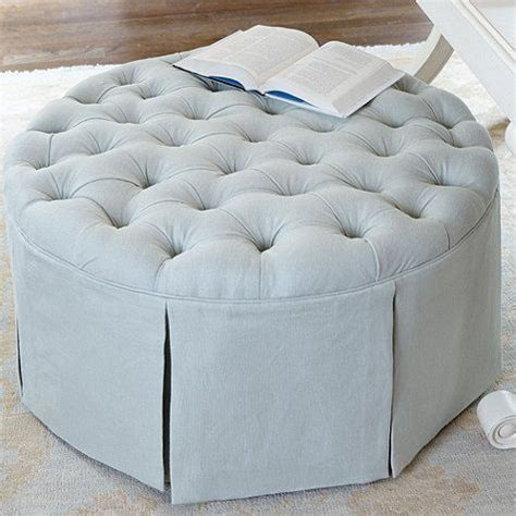 make a tufted ottoman 17 best ideas about round ottoman on pinterest large