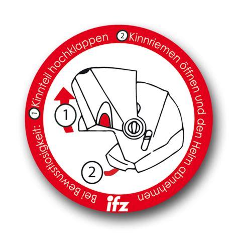 Helm Aufkleber Ersthelfer by Helmaufkleber H6 Institut F 252 R Zweiradsicherheit