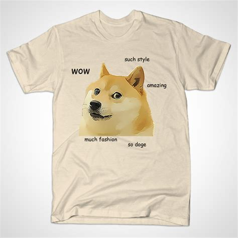 Doge Meme T Shirt - so doge