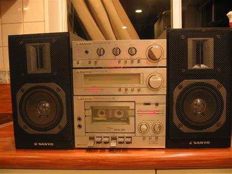 best hi fi system sanyo mini hi fi system vintage vinyl stereo late 70 s