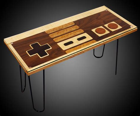 Nes Controller Coffee Table Giveaway Nintendo Controller Coffee Table Dudeiwantthat