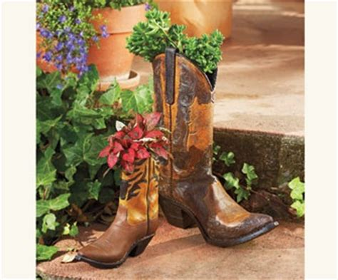 Large Cowboy Boot Planter by 1000 Images About Uses For Cowboy Boots On
